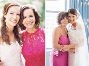 What color should the mother of the bride wear?