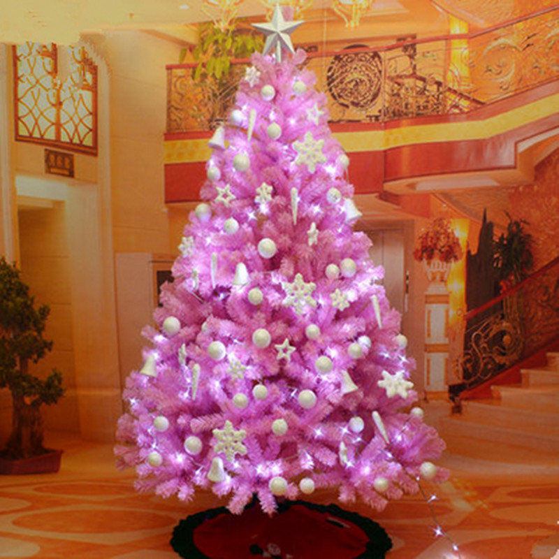 christmas tree2 white christmas tree decoration - How To Decorate Pink Christmas Tree