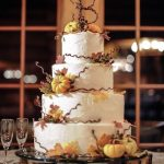 Trend for 2016 Fall Wedding Cakes Ideas
