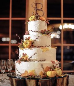 Fall Wedding Cakes.Trend For 2016 Fall Wedding Cakes Ideas Official Hebeos Blog