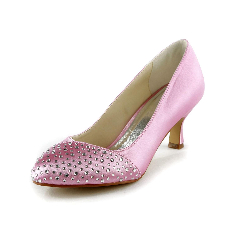 White Satin Peep Toe Wedding Shoes