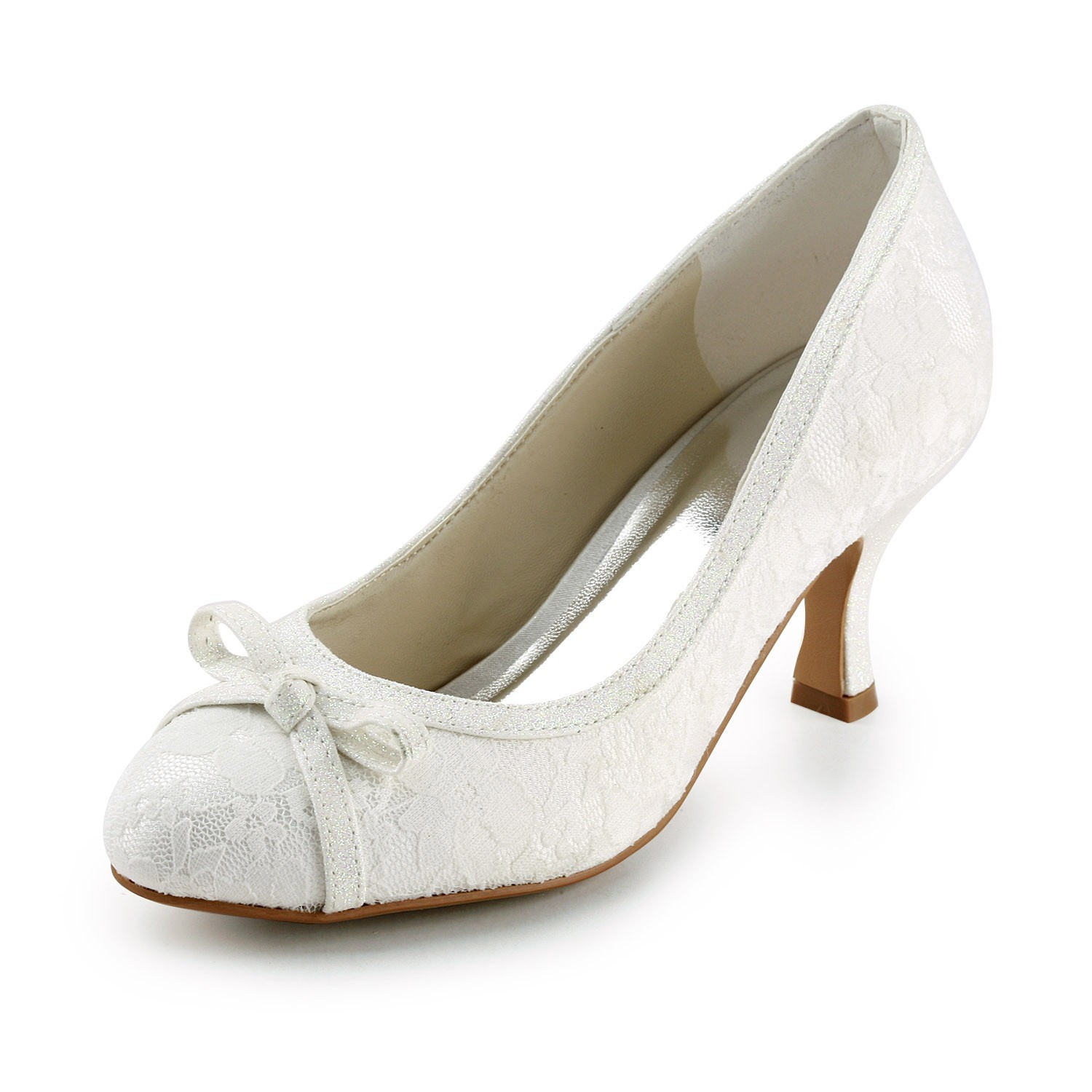 Closed Toe Weding Shoes 035 - Closed Toe Weding Shoes