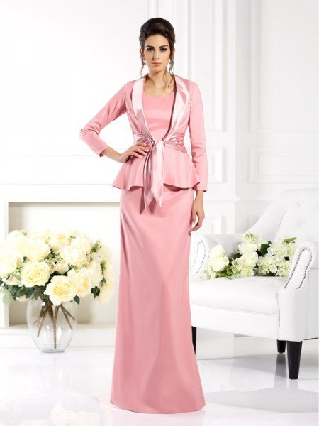 3/4 Sleeves Elastic Woven Satin Special Occasion Wrap
