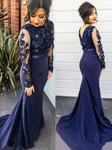silk like satin plus size prom dresses - hebeos online